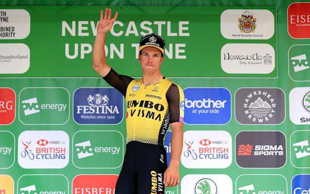 Dylan Groenewegen is favourite for the World Road Race Championships in Yorkshire in a few weeks' time - Velo