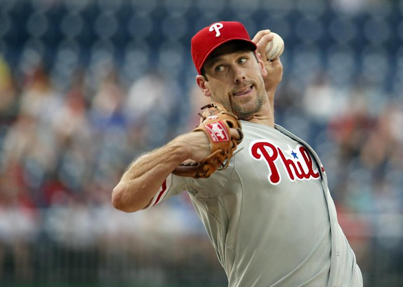 Cliff Lee leaves start against Nationals in 3rd