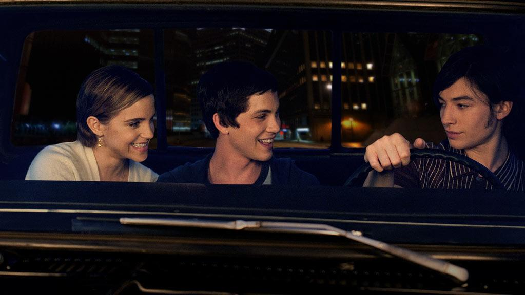 """Emma Watson, Logan Lerman and Ezra Miller in Summit Entertainment's """"The Perks of Being a Wallflower"""" - 2012"""