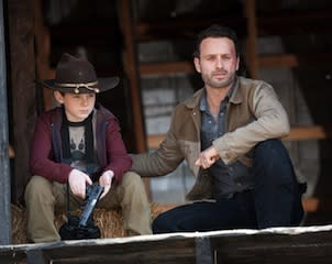TVLine Items: Walking Dead Season 3 First Look, Nightmare for Glee and 90210 Stars, and More!