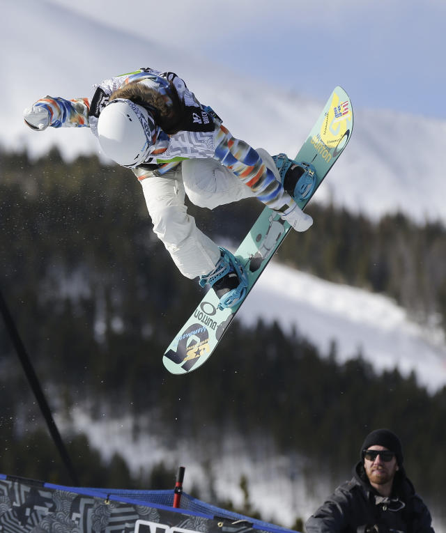 American snowboarder Chloe Kim has made a habit of making history. (AP)