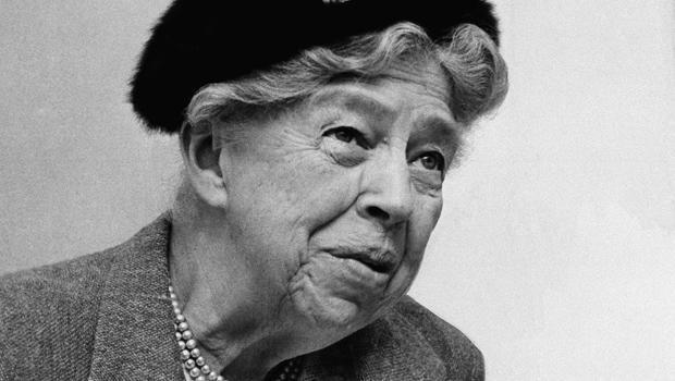 Former first lady Eleanor Roosevelt is pictured in St. Louis in this Oct. 16, 1957 file photo. / Credit: AP Photo
