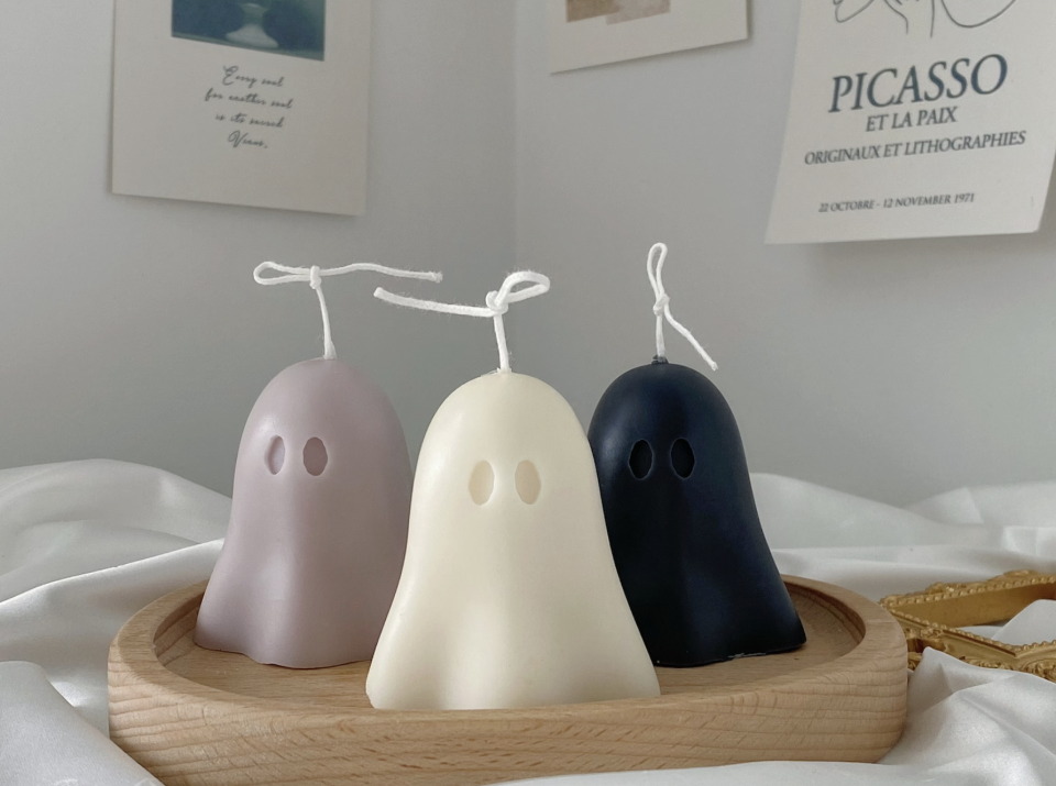 Ghost Candles (Photo via Etsy)
