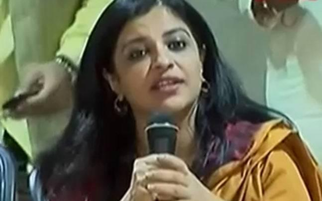 Shazia Ilmi files FIR against AAP trolls