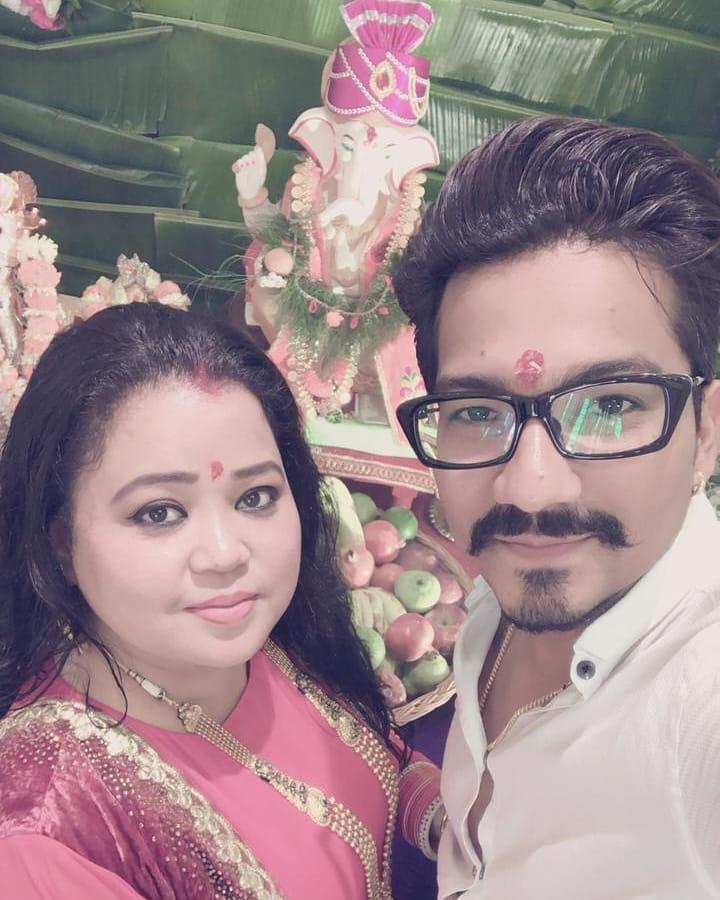 Comedy boss-lady Bharti Singh married long time boy-friend Haarsh Limbachiyaa in a grand ceremony in December 2017. Though he is from the TV industry, because he works where the camera doesn't roll, not many of us are familiar with him. Haarsh is a comedy shows writer and had founded the production company H3 Productions in 2017.