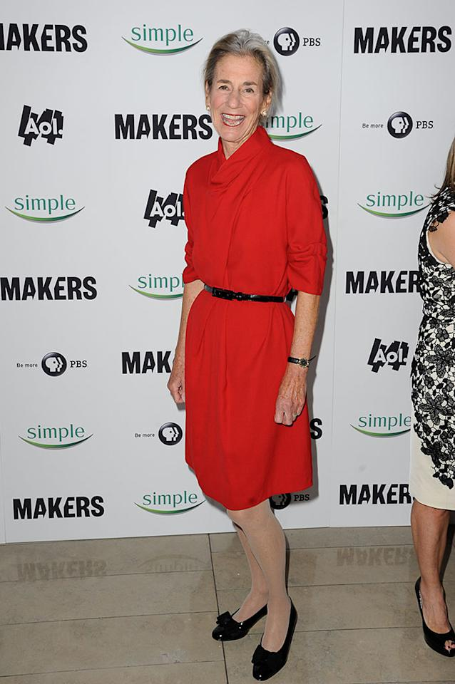 "Shelly Lazarus arrives at ""MAKERS: Women Who Make America"" New York Premiere at Alice Tully Hall on February 6, 2013 in New York City."