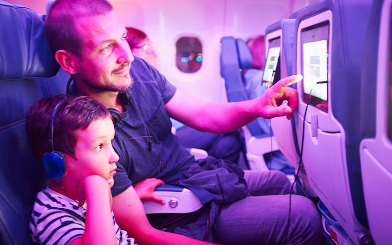 Watching you, watching it – entertainment screens on planes increasingly carry cameras -