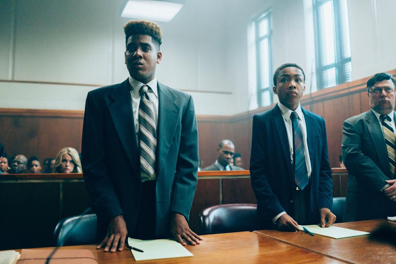 """<p>Ava DuVernay's powerful <strong>When They See Us </strong>takes a closer look at the Central Park rape case that led to the <a href=""""https://www.popsugar.com/entertainment/Netflix-When-See-Us-Cast-Real-Central-Park-Five-46225655"""" target=""""_blank"""" style=""""background-color: rgb(255, 255, 255);"""" class=""""ga-track"""" data-ga-category=""""Related"""" data-ga-label=""""https://www.popsugar.com/entertainment/Netflix-When-See-Us-Cast-Real-Central-Park-Five-46225655"""" data-ga-action=""""In-Line Links"""">wrongful convictions of five Black and brown teenage boys</a>. The miniseries sheds light on how the convictions affected them and how the criminal justice system failed them.  </p> <p><a href=""""https://www.netflix.com/title/80200549"""" target=""""_blank"""" class=""""ga-track"""" data-ga-category=""""Related"""" data-ga-label=""""https://www.netflix.com/title/80200549"""" data-ga-action=""""In-Line Links"""">Watch <strong>When They See Us</strong> on Netflix. </a></p>"""