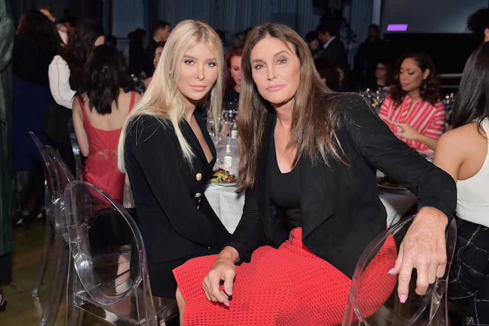 LOS ANGELES, CA - APRIL 30:  Sophia Hutchins and Caitlyn Jenner attend The Hollywood Reporter's Empowerment In Entertainment Event 2019 at Milk Studios on April 30, 2019 in Los Angeles, California.  (Photo by Stefanie Keenan/Getty Images for The Hollywood Reporter)