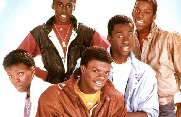 """<p>New Edition came on the scene and captured the hearts of fans with their smooth harmonies and upbeat sound. They were considered the 80s version of the Jackson Five when their single <a href=""""https://www.amazon.com/Candy-Girl/dp/B004GOB1WW/?tag=syn-yahoo-20&ascsubtag=%5Bartid%7C10063.g.35225069%5Bsrc%7Cyahoo-us"""" rel=""""nofollow noopener"""" target=""""_blank"""" data-ylk=""""slk:""""Candy Girl"""""""" class=""""link rapid-noclick-resp"""">""""Candy Girl"""" </a>propelled them to fame. They became the first in a line of boy bands that reigned in the 80s and 90s.</p>"""