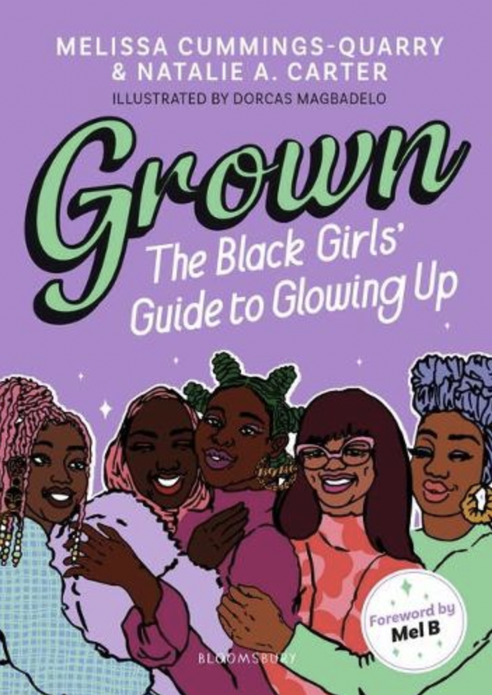 """Can we really be asked to do a list of summer reads and not pay tribute to ourselves? <em>Grown: The Black Girls' Guide to Glowing Up</em> is our first official foray into the world of literature. Written in response to a need for more books that centre the growing experiences of young Black women, <em>Grown</em> is not only the book we needed when we were younger but our love letter to Black British girlhood. It's an an ode to friendship and sisterhood, a step-by-step guide to growing up and living your best life.<br><br>From fashion to featurism, <em>Grown </em>was created with one thing in mind: to help young girls glow up as they attempt to navigate a world where they are seen as too old to make mistakes but too young to be listened to and taken seriously. <br><br>We break down all the things you need to know, from the big things such as understanding your identity, the politics of hair, exploring your spirituality, breaking down stereotypes and giving you the tools you need to recognise red flags and microaggressions (it's not you sis, it's definitely them) to the small things that no one really talks about, like what's really going on between your legs and explaining what the 'bag' is and how you go about securing it.<br><br>Illustrated by Dorcas Magbadelo with words of wisdom and advice from inspiring Black women such as Diane Abbott MP, Sharmadean Reid, Kelechi Okafor, Candice Carty-Williams, Dorothy Koomson and everyone's favourite Spice Girl, Melanie B, <em>Grown</em> is not only the ultimate read of the summer, it's the book you need to gift to all your friends.<br><br>–Melissa<br><br><em>Released 30 September on Bloomsbury</em><br><br><strong>Bloomsbury Publishing</strong> Grown: The Black Girls' Guide To Glowing Up, $, available at <a href=""""https://uk.bookshop.org/books/grown-the-black-girls-guide-to-glowing-up/9781526623713"""" rel=""""nofollow noopener"""" target=""""_blank"""" data-ylk=""""slk:bookshop.org"""" class=""""link rapid-noclick-resp"""">bookshop.org</a>"""