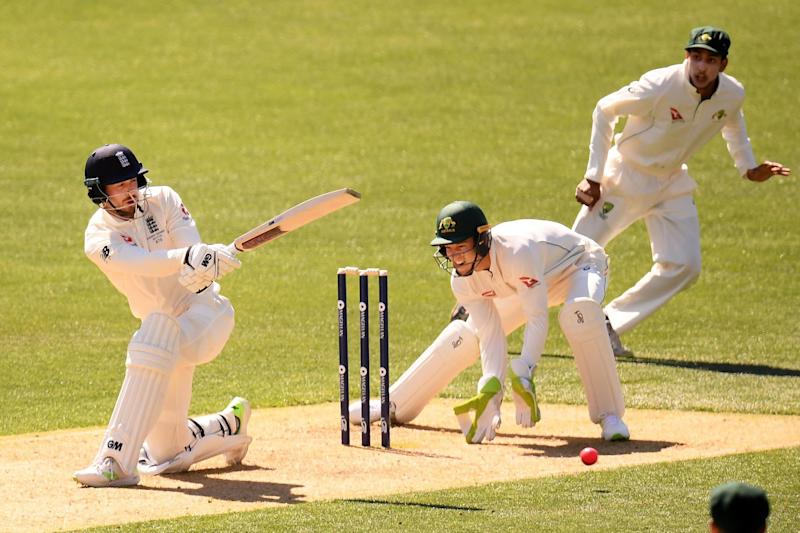 Pivotal role: James Vince, in action in Adelaide, will bat at No3 in the First Test: Getty Images