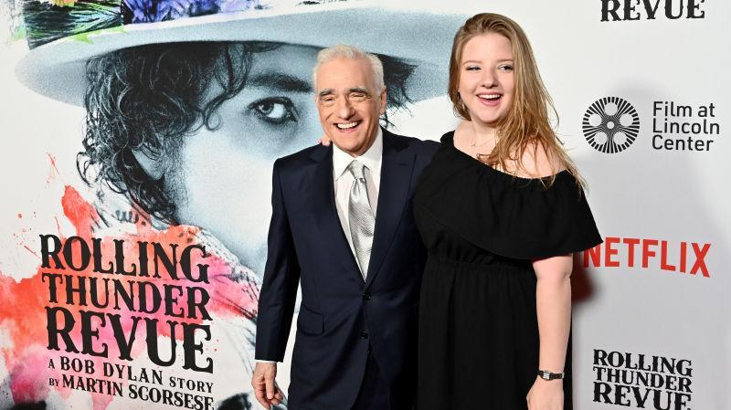 Left to right: Martin Scorsese and Francesca Scorsese