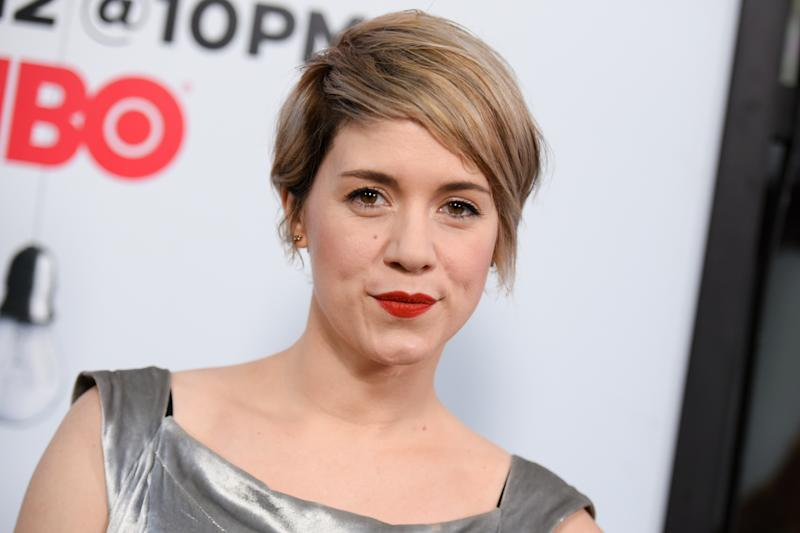 "Alice Wetterlund arrives at the LA Premiere For Season 2 Of ""The Silicon Valley"" held at the El CapitanTheatre on Thursday, April 2, 2015, in Los Angeles. (Photo by Richard Shotwell/Invision/AP)"