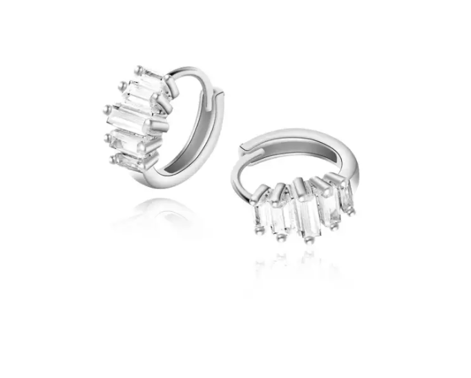 Morning Star Silver D085 92.5% Italy Silver Clip Earrings. (PHOTO: Lazada Philippines)