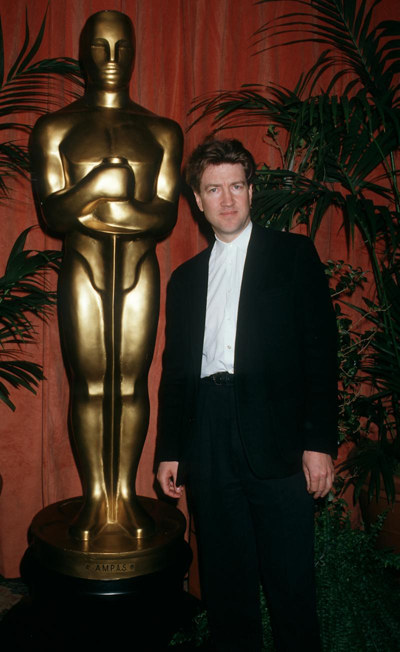 Director David Lynch attends the nominees luncheon for 59th Annual Academy Awards on March 18, 1987 at the Beverly Hilton Hotel in Beverly Hills, California. (Photo by Ron Galella, Ltd./Ron Galella Collection via Getty Images)