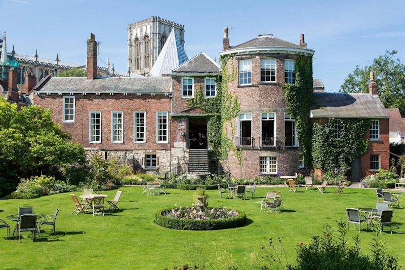 This Grade I listed building is one of the oldest houses in England (Grays Court)