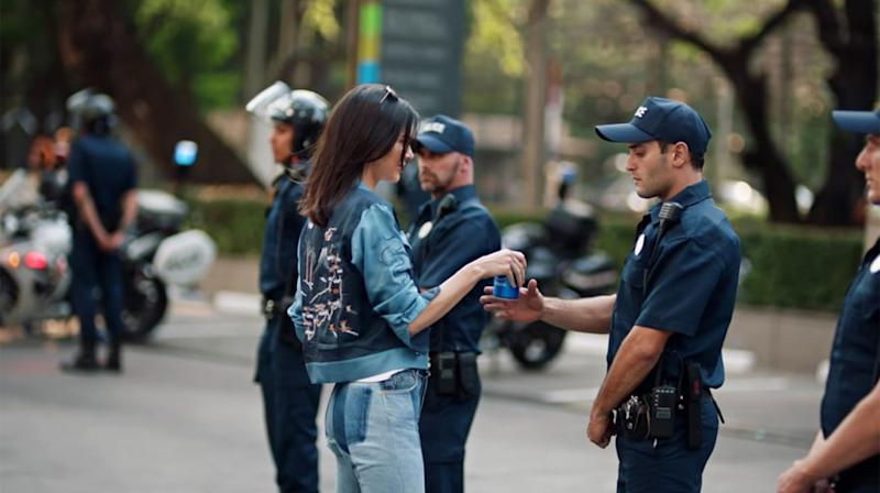 Pepsi's Idiotic Kendall Jenner Ad Highlights Pop Music's Protest Problem