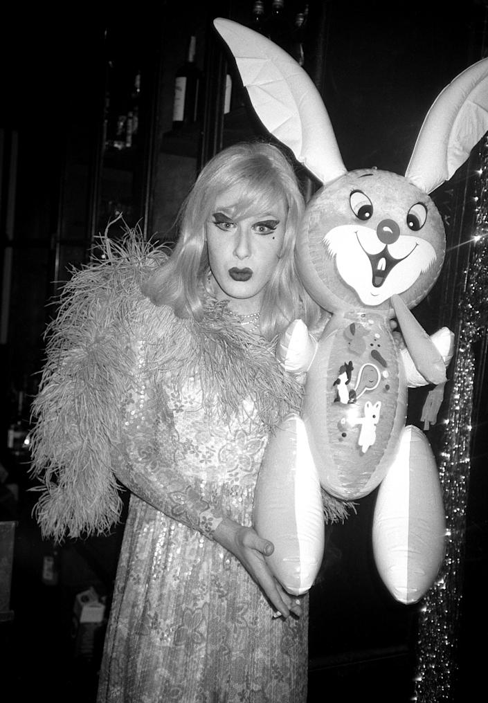 Lady Bunny at Area (Paul Bruinooge/Patrick McMullan via Getty Images)