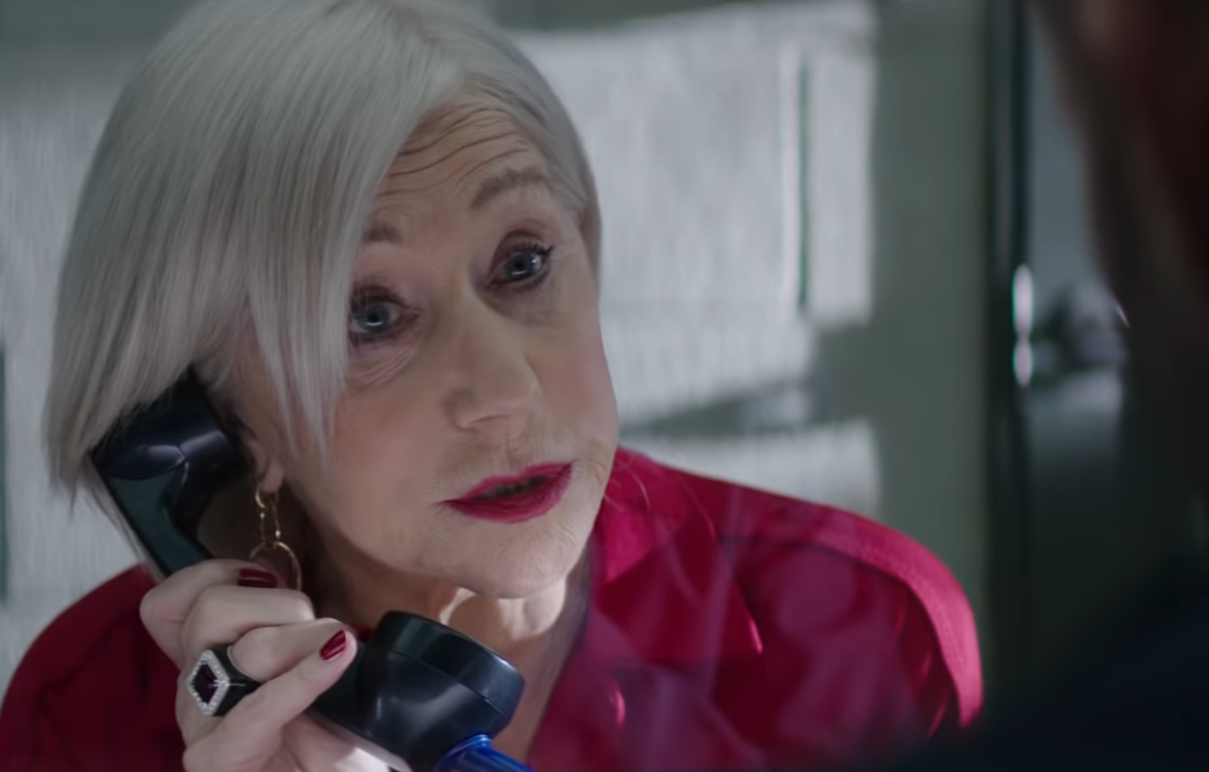 Helen Mirren returns as the Shaw family matriarch in 'Hobbs & Shaw' (Photo: Universal/YouTube)