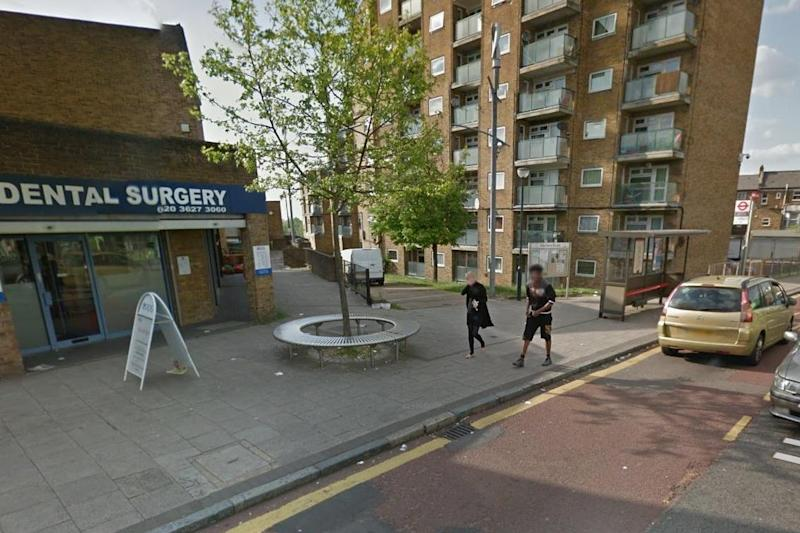 The stabbing happened at the top of Herbert Road, near to the junction with PLumstead Common Road: Google