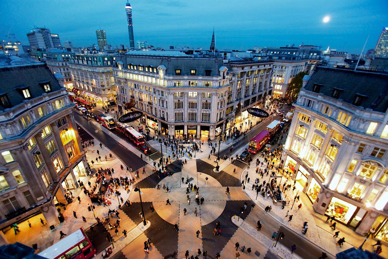 Matthew Cheetham, The new crossing at Oxford Circus, London, England. Highly Commended in the Urban View category.