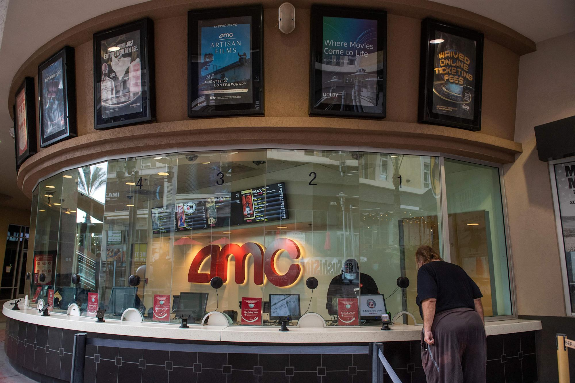AMC stock is worth less than a movie ticket: analyst – Yahoo Finance