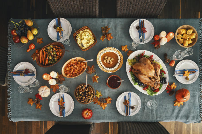 Weird and historical facts about our most favorite Thanksgiving sides. (Photo: Getty)
