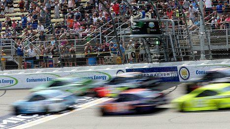 Rain could be a factor at Michigan NASCAR race | AP sports
