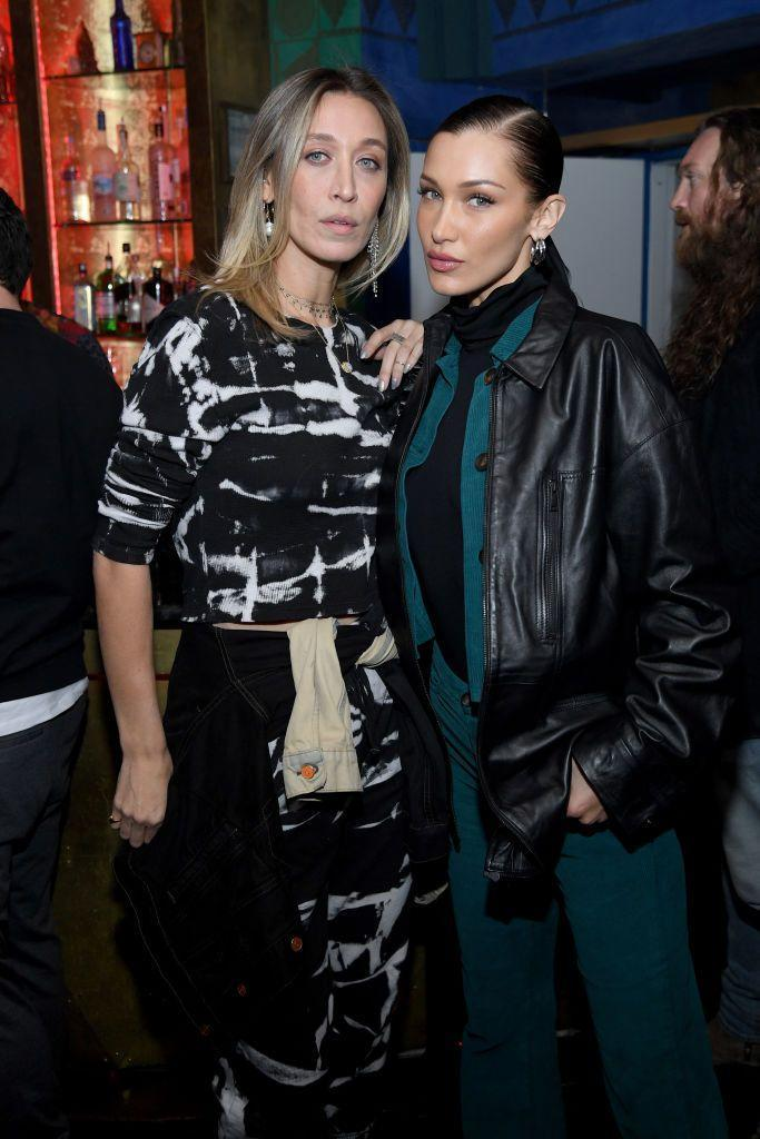 <p>We all know Bella and Gigi Hadid are sisters, but the young model looks more like her oldest sister, Alana, who's 12 years her senior. They have different mothers, but still have the same bone structure and almond-shaped eyes, and are both in fashion, with Alana on the designer side.</p>