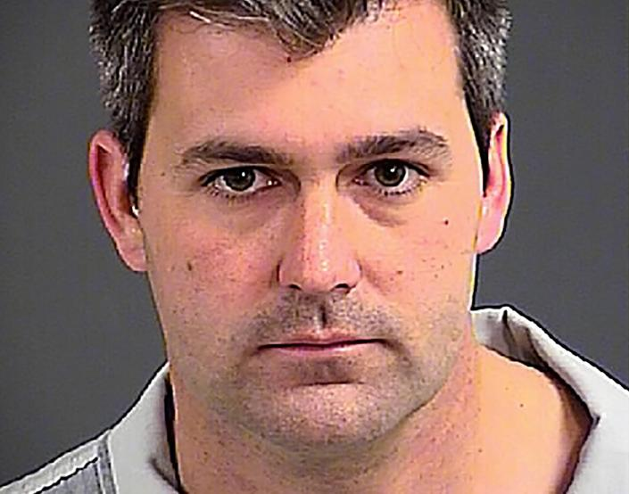 Michael Slager photographed at the Charleston County Detention Center after his arrest on Tuesday. (Charleston County Sheriff's Office)