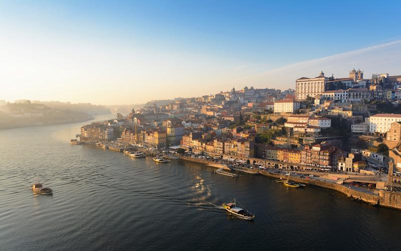 The Douro is becoming increasingly popular for river cruises - wayfarerlife photography