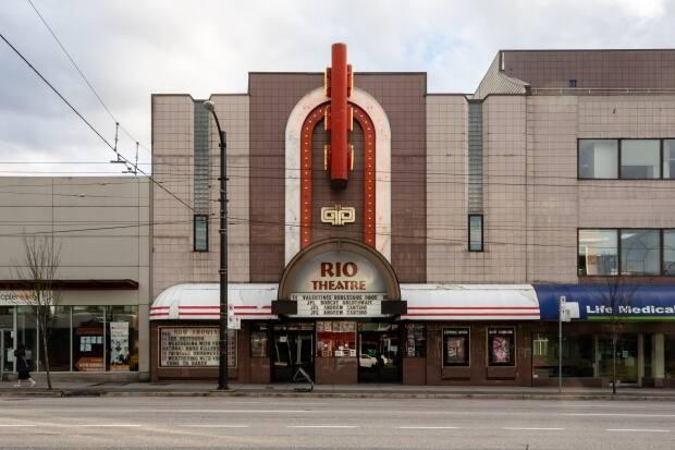 The Rio Theatre in Vancouver will show Cinema Paradiso and The Big Lebowski on June 15, when movie theatres across B.C. are set to reopen. (Maggie MacPherson/CBC - image credit)