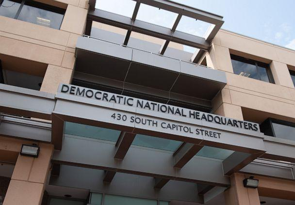 PHOTO: The headquarters of the Democratic National Committee (DNC) is seen in Washington, D.C, Aug. 22, 2018. (Saul Loeb/AFP/Getty Images)
