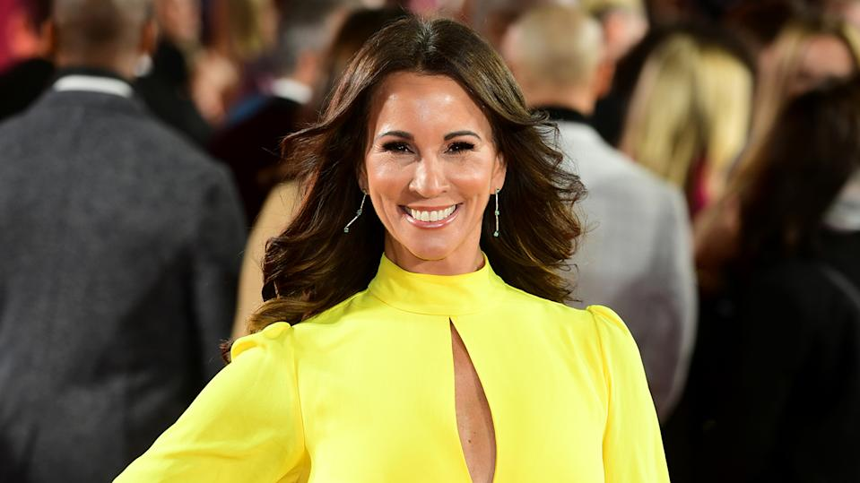 Andrea McLean arriving for the ITV Palooza held at the Royal Festival Hall, Southbank Centre, London.