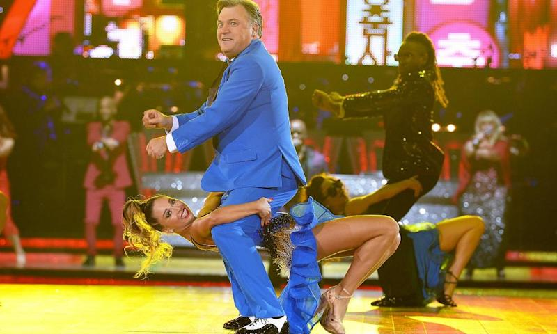 Ed Balls in Strictly Come Dancing