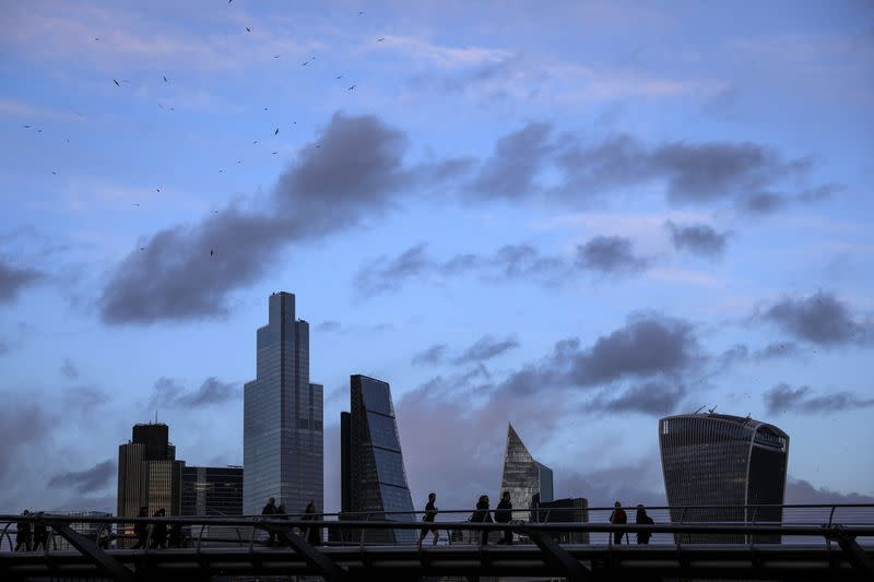 Britons a bit more upbeat on finances but worried about economy, GfK says