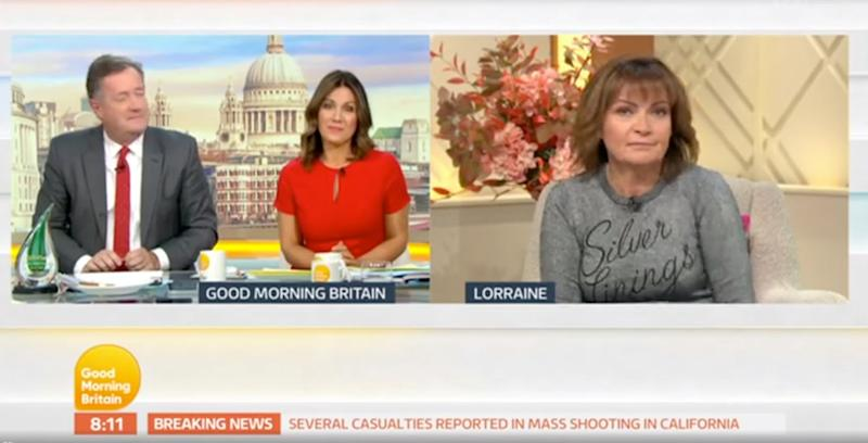 Susanna's face says it all as Lorraine says exactly how she's feeling (Photo: ITV)