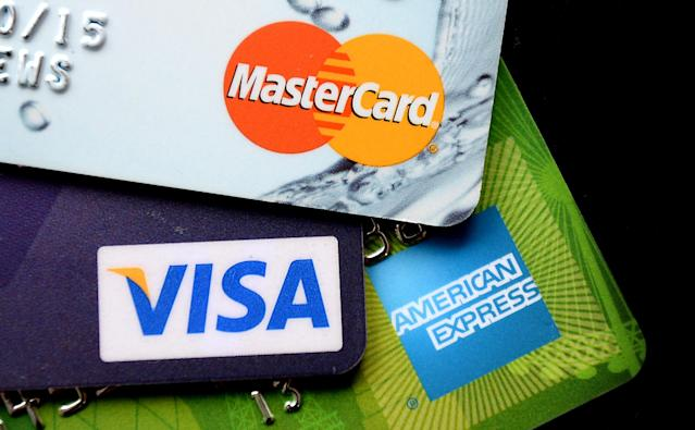 The UK is headed towards a 'cashless society' as Brits increasingly rely on payment cards and mobile phones to make purchases. Photo: Andrew Matthews/PA Archive/PA Images
