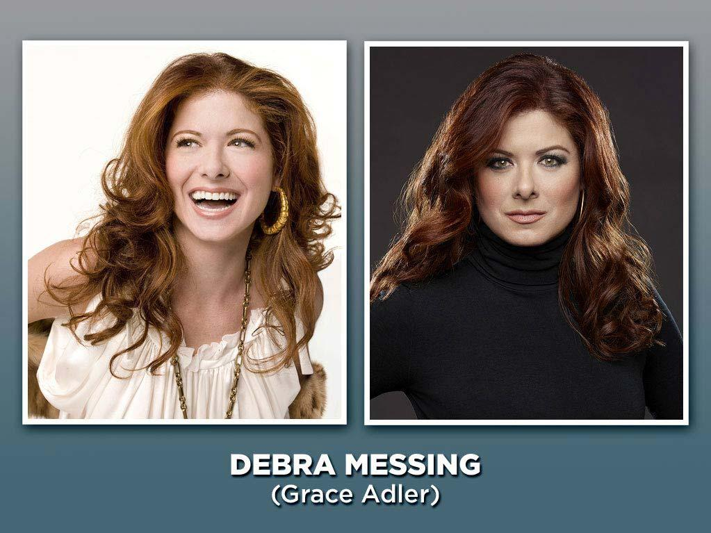 """As neurotic interior designer Grace Adler, Messing was the fun best friend every gay man wanted to have, always ready to share a pint of ice cream on the couch. She won an Emmy in 2003 for the role, and followed it up by starring in the acclaimed USA miniseries """"<a href=""""/starter-wife/show/42275"""">The Starter Wife</a>"""" (which also became a short-lived series). Now she's back on TV as a Broadway writer launching a production about the life of Marilyn Monroe in NBC's new musical drama, """"<a href=""""/smash/show/47403"""">Smash</a>."""""""