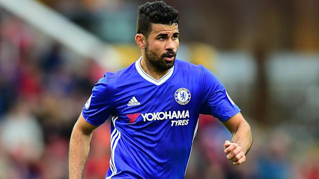 Diego Costa's form may have dipped, but he still has the backing of Chelsea head coach Antonio Conte.