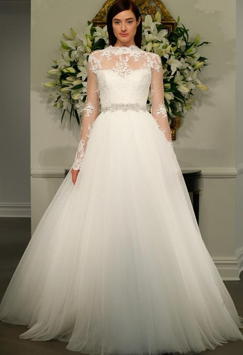 A wedding dress collection inspired by audrey hepburn Grace kelly wedding dress design