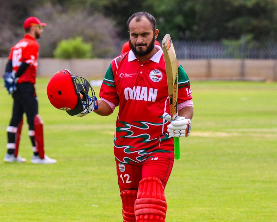 Zeeshan Maqsood Named Captain Of The Oman T20 World Cup Team. Photo- Twitter