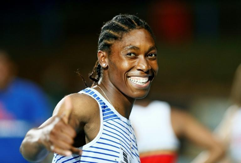 Caster Semenya is a two-time Olympic champion in the women's 800m