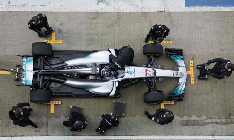 New Mercedes car