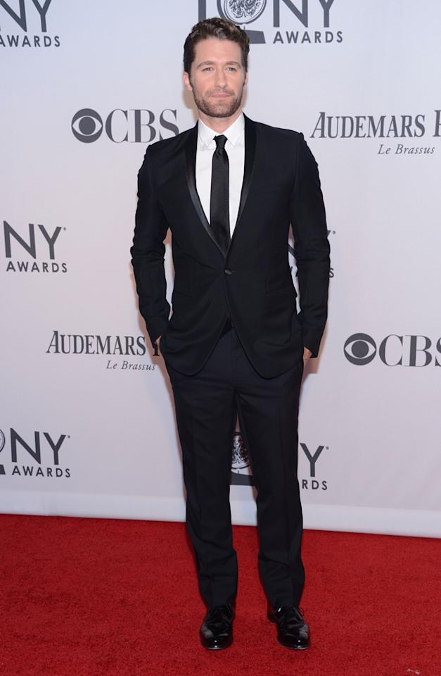 Matthew Morrison attends the 66th Annual Tony Awards at The Beacon Theatre on June 10, 2012 in New York City.