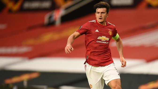 Harry Maguire (Manchester United). (AFP/ Oli Scarff)