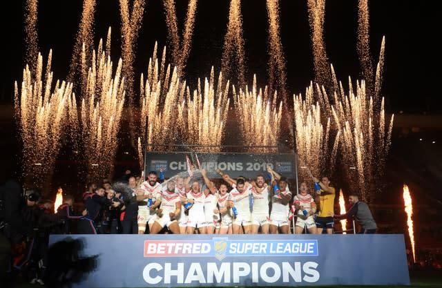 Organisers will be all they can to ensure the Betfred Super League Grand Final at Old Trafford goes ahead (Martin Rickett/PA)