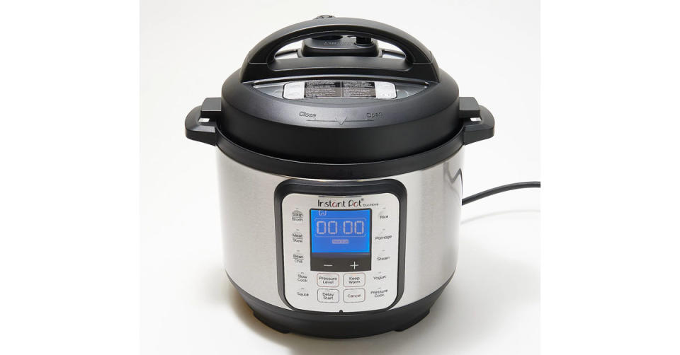 Instant Pot Duo Nova 3-Qt 7-in-1 One-Touch Multi-Cooker (Photo: QVC)