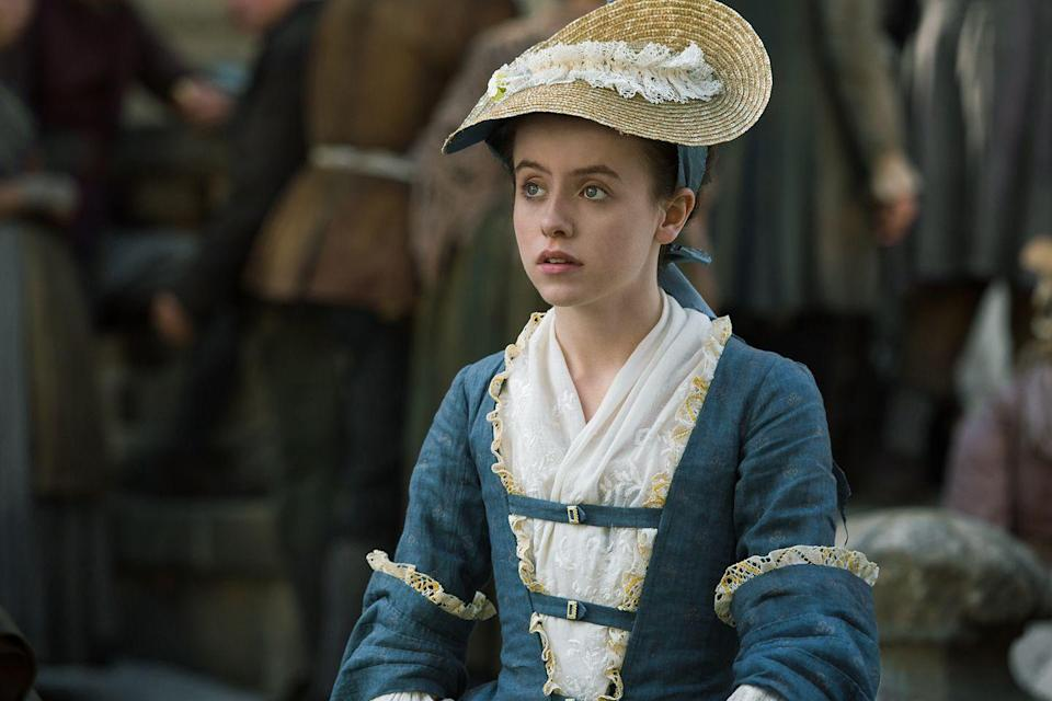 """<p>""""They always made sure I was okay and comfortable, and that I never felt out of my comfort zone while doing it,"""" Day told <em><a href=""""https://www.bustle.com/articles/162768-the-outlander-mary-hawkins-rape-scene-gave-rosie-day-the-chance-to-tell-an-important-story"""" rel=""""nofollow noopener"""" target=""""_blank"""" data-ylk=""""slk:Bustle."""" class=""""link rapid-noclick-resp"""">Bustle.</a> </em></p>"""